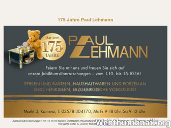spielzeug-lehmann.de website preview