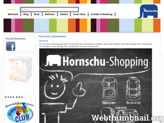 ichwillzuhornschu.de website preview