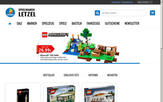 letzel-shop.de website preview